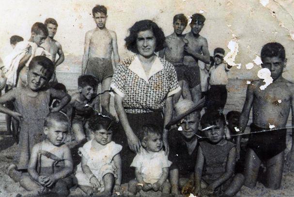 Paco de Lucía, madre y hermanos